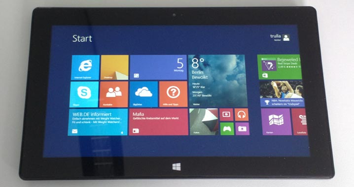 Microsofts Tablet Surface Pro 2